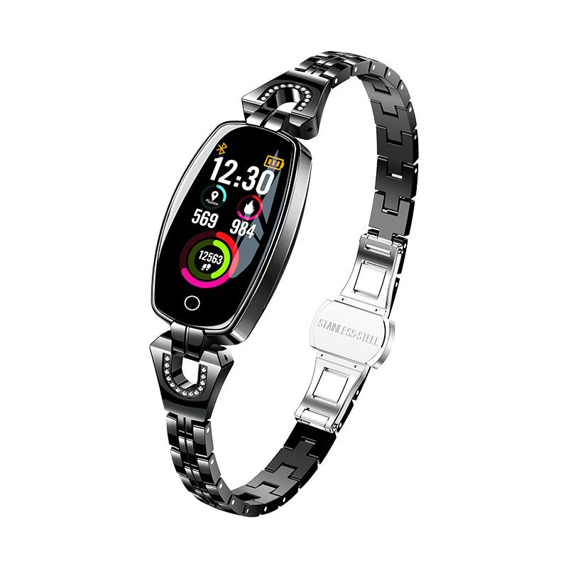 Manufacturing Companies for Fitness Tracker Band Watch Smart Bracelet - Exquisite smart watch women sport smart bracelet H8 – anytec