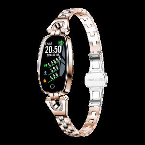 Exquisite smart watch women sport smart bracelet H8