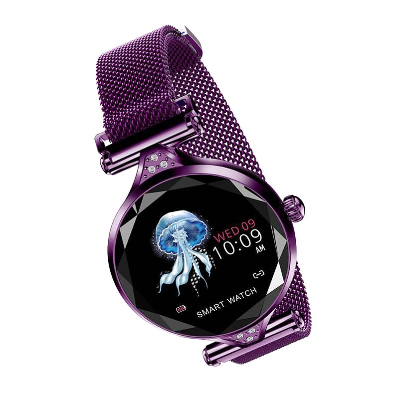 OEM/ODM Factory Smart Wristband Watch - 2021 Fashionable Intelligent Female smart wristband H1 – anytec