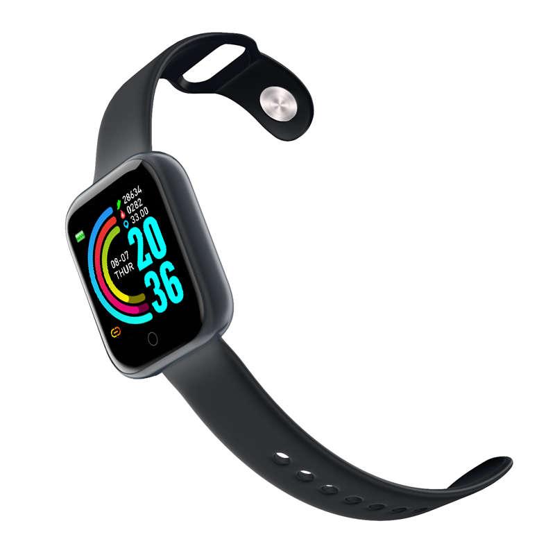 Reasonable price Smart Watch Wristwatch - 1.3 inch high definition large screen sports smart bracelet Y68 – anytec