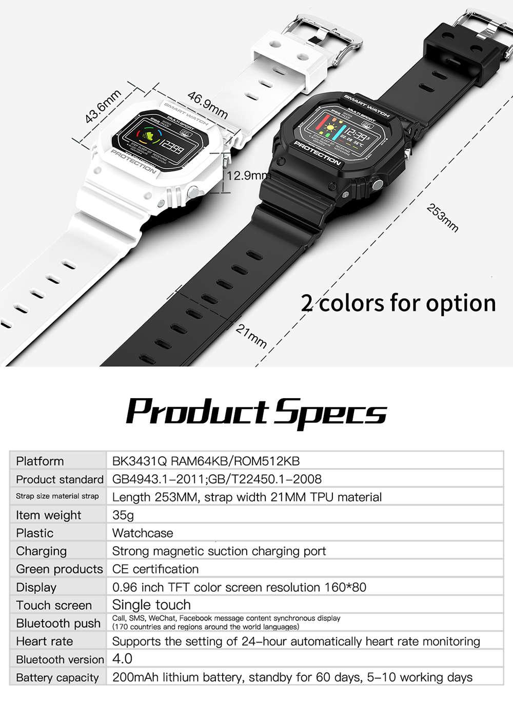 X12 Digital smart watch (18)