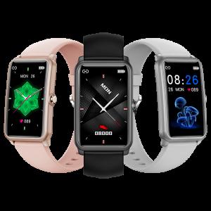 2021 waterproof smart watch full touch screen heart rate monitor H86